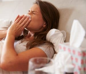 sick In bed with strep, cold, or flu?
