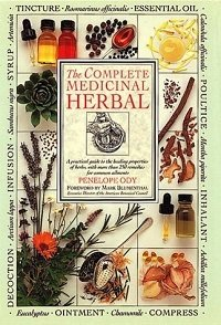 """""""The Complete Medicinal Herbal"""" front book cover"""